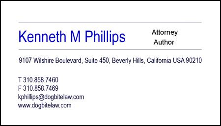 Attorney Kenneth M Phillips