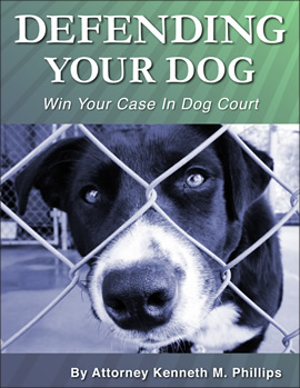 Defending Your Dog 270