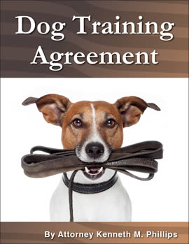 Dog Training Agreement 270