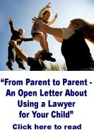 Using a lawyer for your child